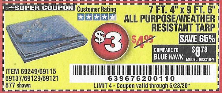 Harbor Freight Tools Coupons, Harbor Freight Coupon, HF Coupons-7 Ft. 4