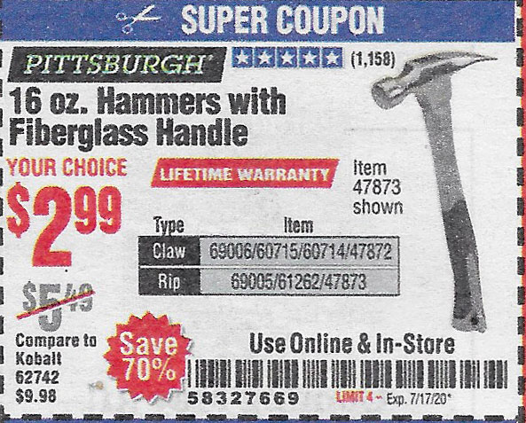 Harbor Freight Tools Coupons, Harbor Freight Coupon, HF Coupons-7-14