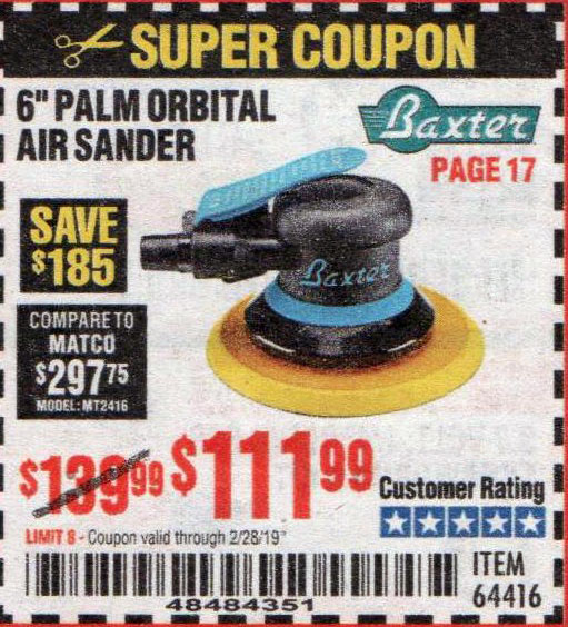 Harbor Freight Coupons, HF Coupons, 20% off - Baxter 6
