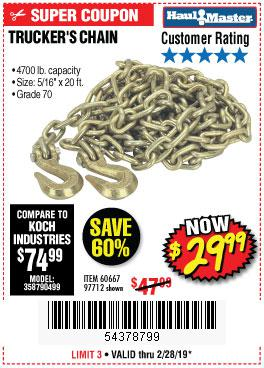 Harbor Freight Coupons, HF Coupons, 20% off - 5/16