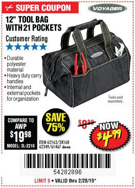 Harbor Freight Coupons, HF Coupons, 20% off - 12
