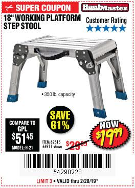 Harbor Freight Coupons, HF Coupons, 20% off - 18