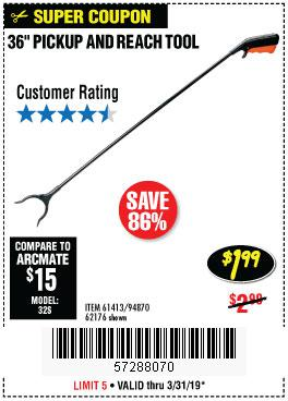 Harbor Freight Coupons, HF Coupons, 20% off - 36