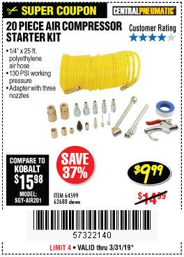 Harbor Freight Coupons, HF Coupons, 20% off - 64599