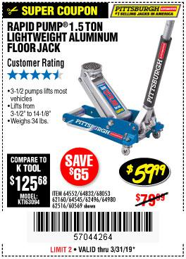 Harbor Freight Coupons, HF Coupons, 20% off - 64552
