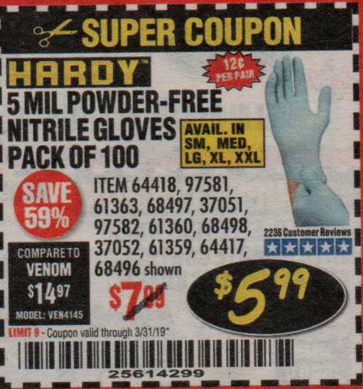 Harbor Freight Coupons, HF Coupons, 20% off - 64418