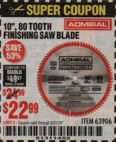 Harbor Freight Coupons, HF Coupons, 20% off - 10