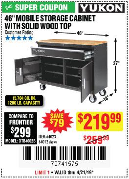 Harbor Freight Coupons, HF Coupons, 20% off - Yukon 46