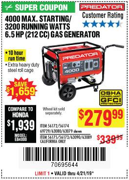 Harbor Freight Coupons, HF Coupons, 20% off - 56174
