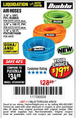 Harbor Freight Coupons, HF Coupons, 20% off - Diablo 3/8
