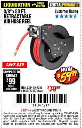 Harbor Freight Coupons, HF Coupons, 20% off - 3/8