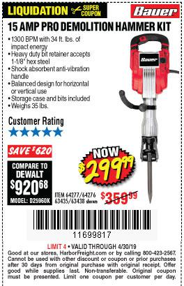 Harbor Freight Coupons, HF Coupons, 20% off - 64277