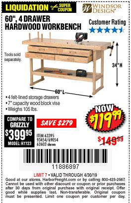 Harbor Freight Coupons, HF Coupons, 20% off - 60
