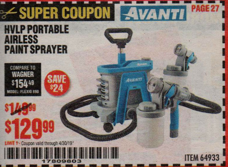 Harbor Freight Coupons, HF Coupons, 20% off - 64933