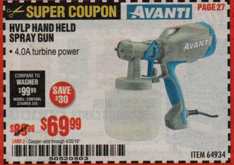 Harbor Freight Coupons, HF Coupons, 20% off - 64934