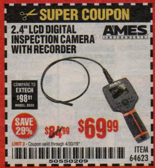 Harbor Freight Coupons, HF Coupons, 20% off - Ames 2.4