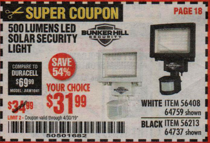 Harbor Freight Coupons, HF Coupons, 20% off - 64759