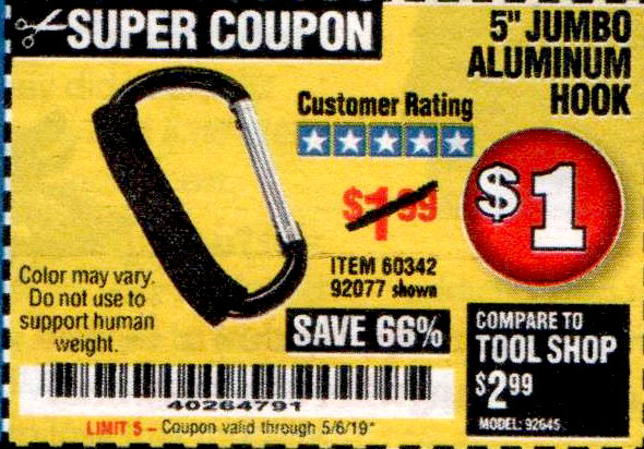 Harbor Freight Coupons, HF Coupons, 20% off - 5
