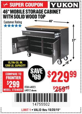 Harbor Freight Tools Coupons, Harbor Freight Coupon, HF Coupons-Yukon 46