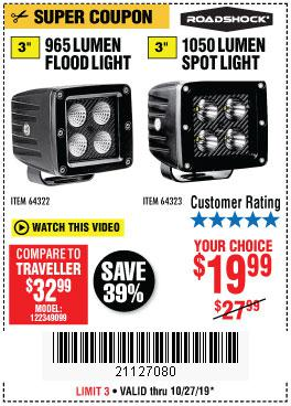 Harbor Freight Tools Coupons, Harbor Freight Coupon, HF Coupons-965 Lumens 3