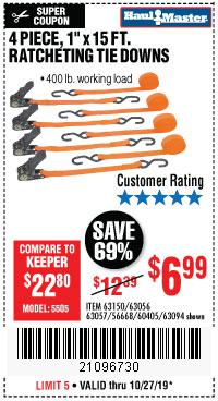 Harbor Freight Tools Coupons, Harbor Freight Coupon, HF Coupons-4 Piece 1