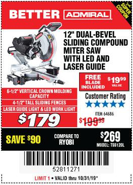 Harbor Freight Tools Coupons, Harbor Freight Coupon, HF Coupons-Admiral 12
