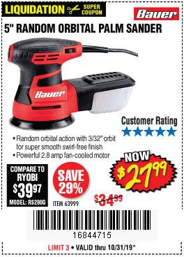 Harbor Freight Tools Coupons, Harbor Freight Coupon, HF Coupons-Bauer 2.8 Amp 5