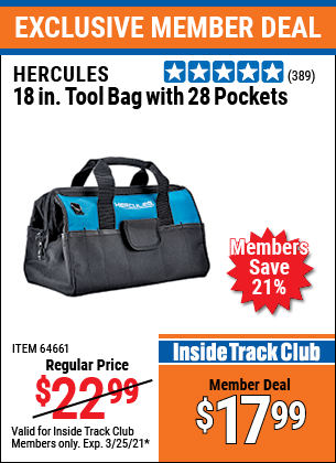 Harbor Freight Tools Coupons, Harbor Freight Coupon, HF Coupons-Hercules 18