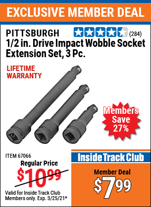 Harbor Freight Tools Coupons, Harbor Freight Coupon, HF Coupons-3 Piece, 1/2