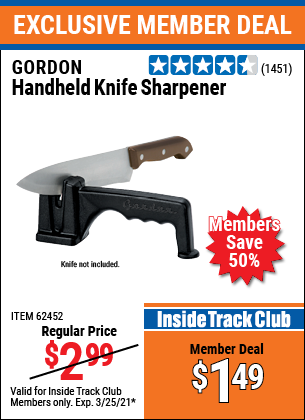 Harbor Freight Tools Coupons, Harbor Freight Coupon, HF Coupons-Handheld Knife Sharpener