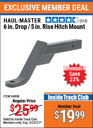 Harbor Freight Tools Coupons, Harbor Freight Coupon, HF Coupons-Class Iii Ball Mount Hitch With 6