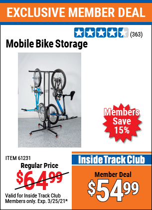 Harbor Freight Tools Coupons, Harbor Freight Coupon, HF Coupons-Mobile Bike Storage