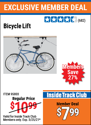 Harbor Freight Tools Coupons, Harbor Freight Coupon, HF Coupons-Bicycle Lift