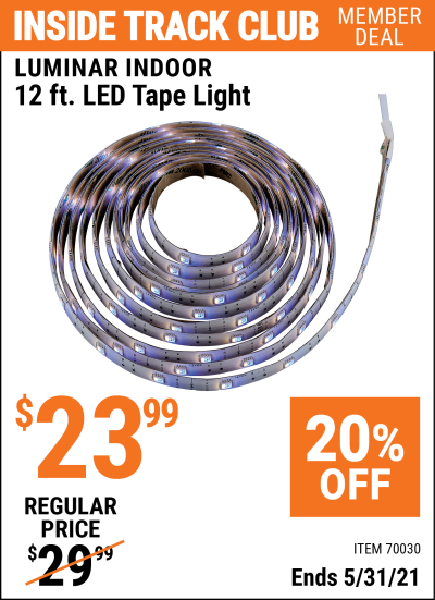 Harbor Freight Tools Coupons, Harbor Freight Coupon, HF Coupons-12 Ft., 16 Color Led Tape Light