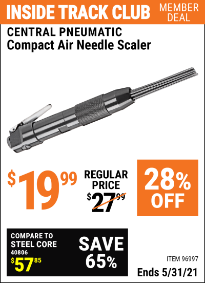 Harbor Freight Tools Coupons, Harbor Freight Coupon, HF Coupons-Air Needle Scaler