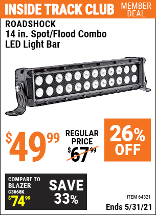 Harbor Freight Tools Coupons, Harbor Freight Coupon, HF Coupons-Roadshock 14