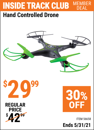 Harbor Freight Tools Coupons, Harbor Freight Coupon, HF Coupons-Hand Controlled Drone