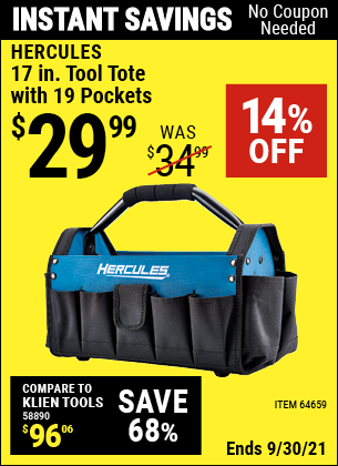 Harbor Freight Tools Coupons, Harbor Freight Coupon, HF Coupons-Hercules 17