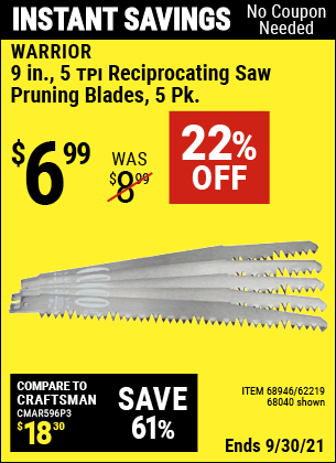Harbor Freight Tools Coupons, Harbor Freight Coupon, HF Coupons-5 Piece, 9