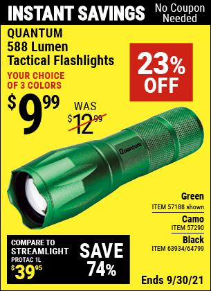Harbor Freight Tools Coupons, Harbor Freight Coupon, HF Coupons-310 Lumen Adjustable Headlamp/588 Lumen Tactical Flashlight