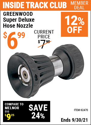 Harbor Freight Tools Coupons, Harbor Freight Coupon, HF Coupons-Super Deluxe Hose Nozzle