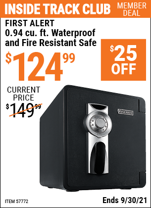 Harbor Freight Tools Coupons, Harbor Freight Coupon, HF Coupons-0.94 cu. ft. Waterproof and Fire Resistant Safe