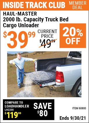 Harbor Freight Tools Coupons, Harbor Freight Coupon, HF Coupons-Truck Bed Cargo Unloader