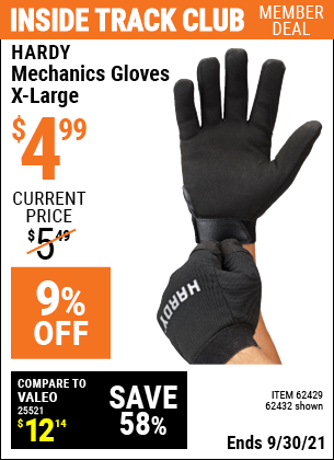 Harbor Freight Tools Coupons, Harbor Freight Coupon, HF Coupons-Mechanic's Gloves