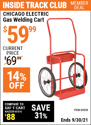 Harbor Freight Tools Coupons, Harbor Freight Coupon, HF Coupons-Gas Welding Cart