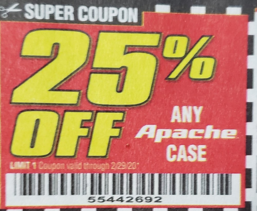 Harbor Freight Coupons, HF Coupons, 20% off -