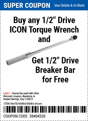 Harbor Freight Coupons, HF Coupons, 20% off - Icon 1/2