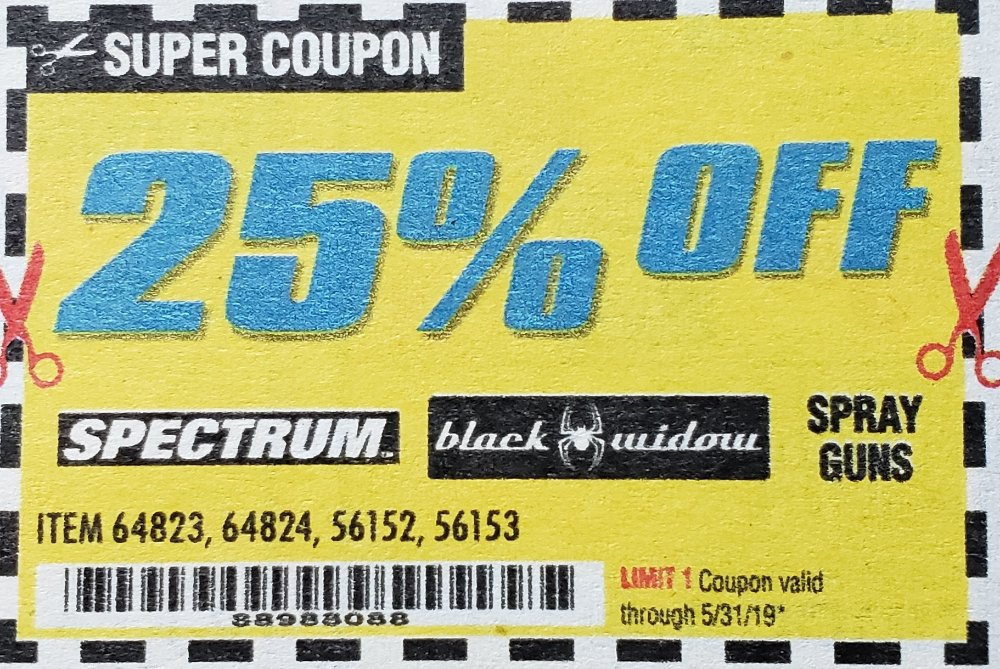 Harbor Freight Coupons, HF Coupons, 20% off - 25% off for item 64823,64824,56152,56153
