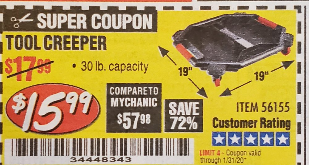 Harbor Freight Coupon, HF Coupons - Tool Creeper