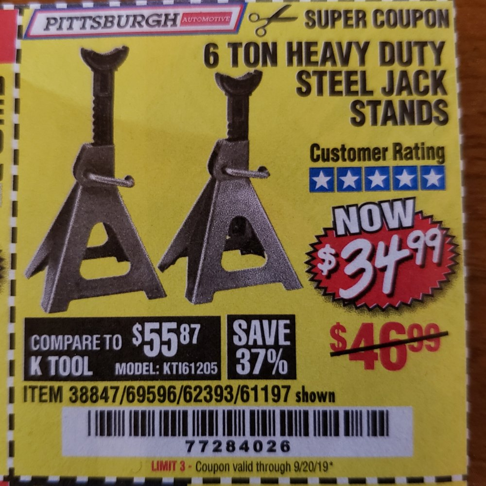 Harbor Freight Coupon, HF Coupons - 38847